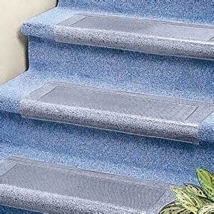 Stair Carpet Protectors by Clear Stair Treads Carpet Protector Amazon Co Uk Diy Amp Tools