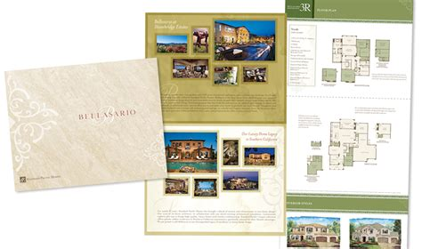 Standard Pacific Home Floor Plans Real Estate Brochure Designer San Diego I Design New