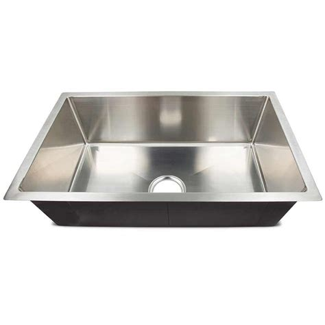 rv kitchen sink single bowl lippert 27 quot x 16 quot 8 quot single bowl stainless steel farms sink