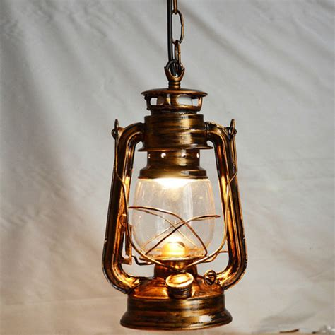 Creative Hanging Lights Nordic Nostalgic Lantern Edison Pendant Light Vintage Creative Kerosene Pendant L Restaurant
