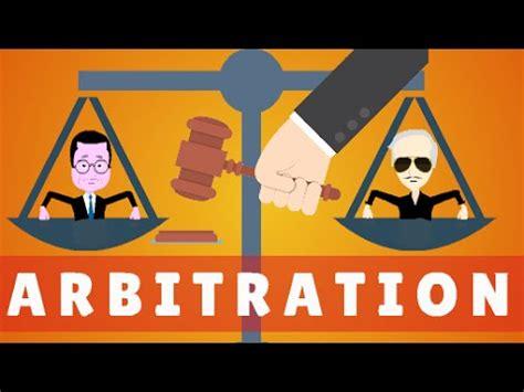 Arbitration Search Arbitration Explained Animata Hesham Elrafei