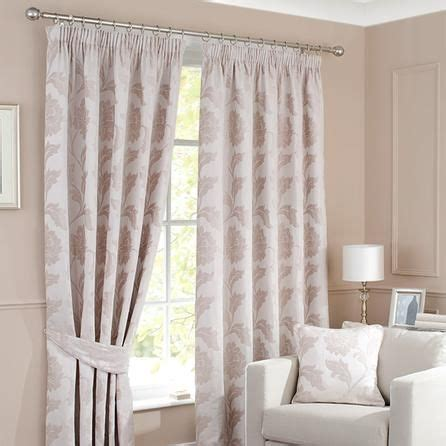 shower curtains dunelm cream windsor lined pencil pleat curtains dunelm mill