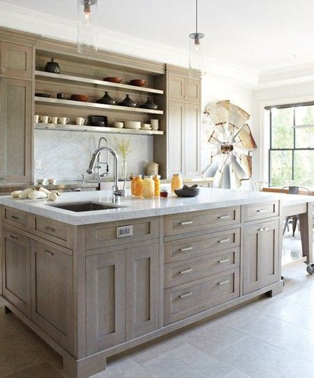 cerused oak kitchen cabinets cerused oak kitchens and cabinets kitchen trend