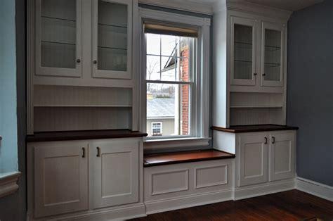 built in window seat built in cabinetry window seat