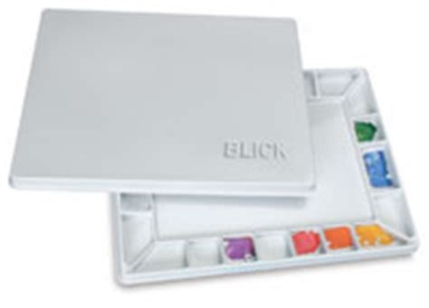 Reeves Flower Palette Palet Palete Pallete Pallette Tempat Cat palettes and mixing trays supplies at blick