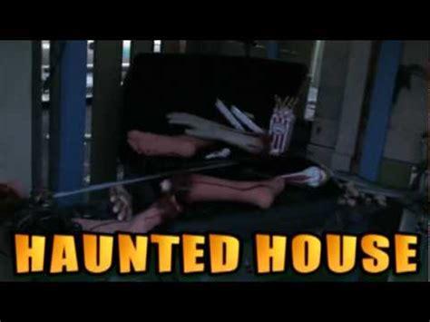 backyard haunted house part 11 how to build a backyard haunted house 2009 youtube