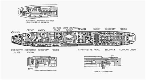 Air Force 1 Floor Plan by Vvip Aviation