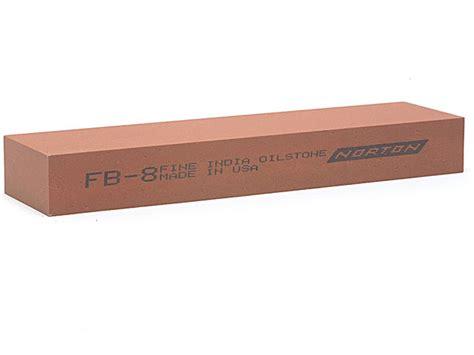 norton bench stone norton india fb8 bench stone 200mm x 50mm x 25mm fine