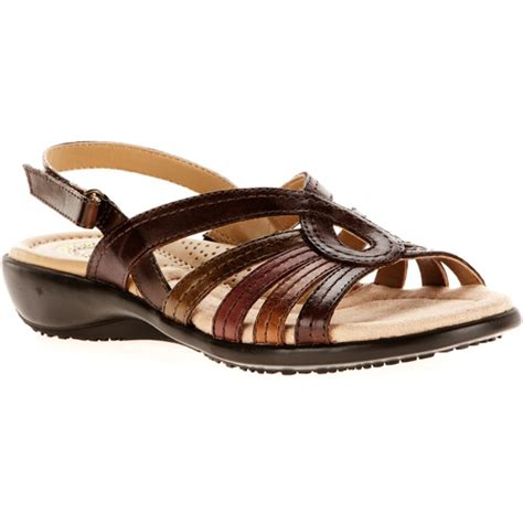 walmart sandals womens earth spirit s carlisle leather sandals shoes