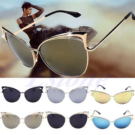 Cat Eye Shades s gold retro cat eye sunglasses classic designer