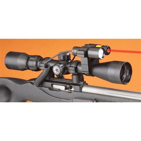best predator scope light 3 9x40mm varmint hunter scope with laser light combo