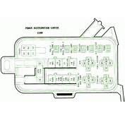 96 Dodge Ram 1500 52L Power Distribution Center Fuse Box