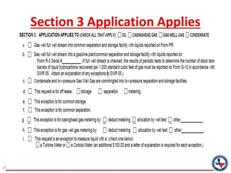 section 3 application ppt railroad commission of texas surface commingling p