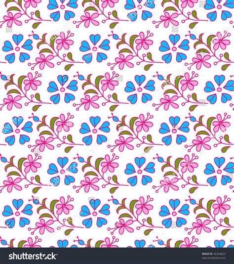 seamless pattern girly girly seamless floral pattern for vector version see my