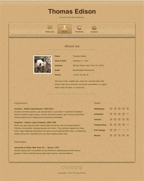 demdous mobile vcard template by thememarket themeforest edison responsive vcard template by mird themeforest