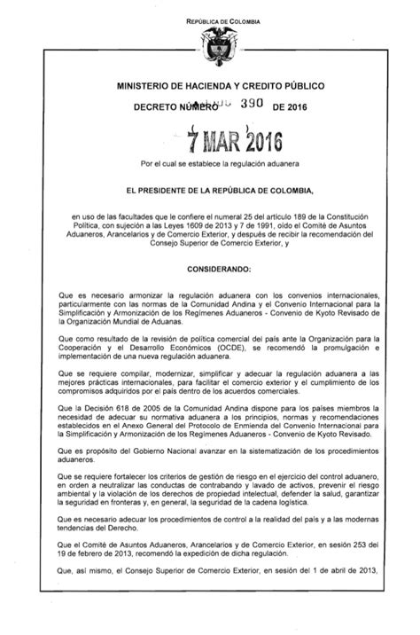 pensionado por decreto 2016 decreto 390 del 07 de marzo de 2016