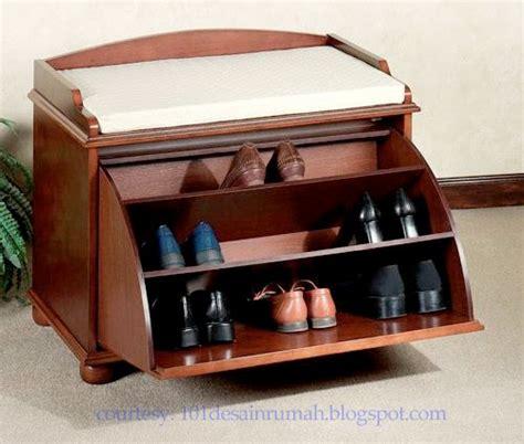 desain rumah ideal 15 desain rak sepatu unik dan minimalis