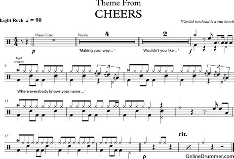 Theme Song To Cheers | cheers theme music download