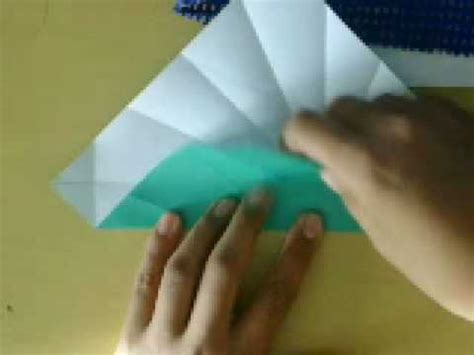How To Make Paper Shells - how to make the origami shell