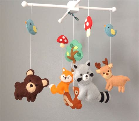 Baby Mobile Crib Baby Mobile Nursery Decor By Wonderfeltland How To Make Baby Mobiles For Cribs