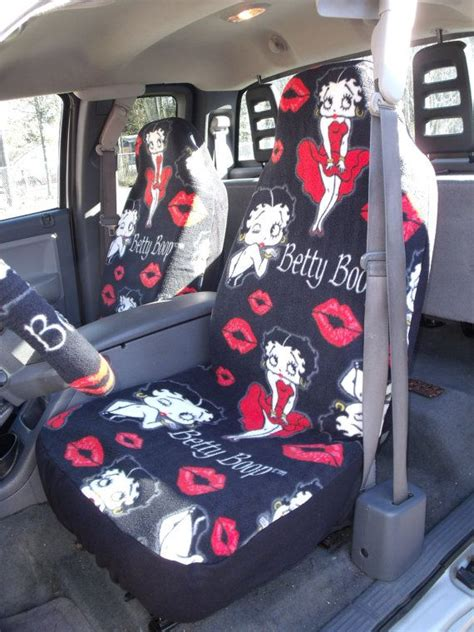 kia soul seat covers walmart reserved for 1mariahnikole58 set of betty boop print