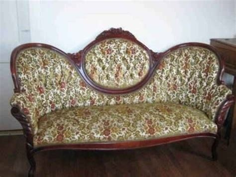 broyhill floral sofa with wood trim floral sofa chaise with beautiful wood carved