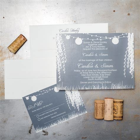 Weeping Willow Wedding Invitations weeping willow tree wedding invitations chic