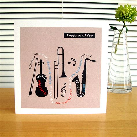 song cards personalised car boat wine birthday cards by designed