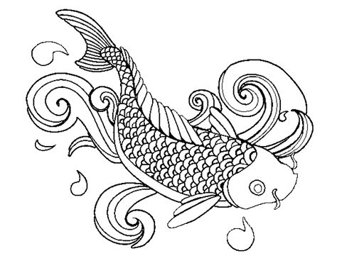 coloring pages of fish for adults coloring page fish printable kids colouring pages
