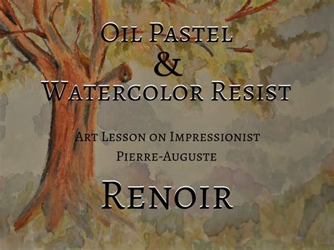 biography book recommendations renoir oil pastel watercolor lesson liberty hill house