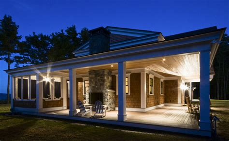 Marvelous Ranch House With Wrap Around Porch #1: Phenomenal-Wrap-Around-Porch-House-Plans-decorating-ideas-for-Exterior-Traditional-design-ideas-with-Phenomenal-Adirondack-chairs-ceiling.jpg