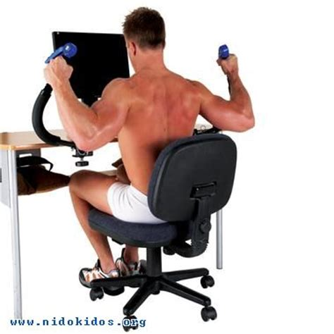 Workout At Your Desk Equipment by How To Exercise While Sitting At Your Computer