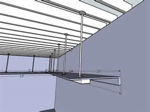 diy hanging garage shelves diy hanging garage storage shelves plans plans free