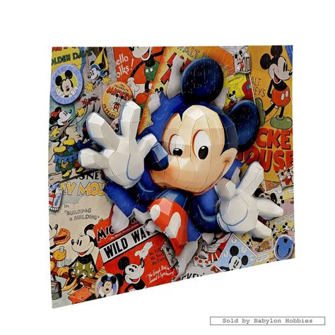 Puzzle Mickey Mouse 200 pcs jigsaw puzzle disney 3d breakthrough mickey mouse puzzle ebay
