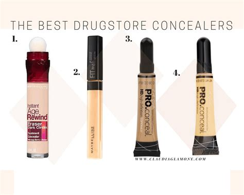 what color concealer for circles the best drugstore concealers for circles redness