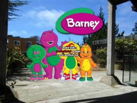 we are barney and the backyard gang we are barney and the backyard gang youtube