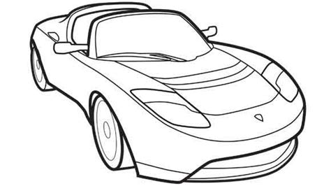cartoon sports car black and white sports car black and white clipart