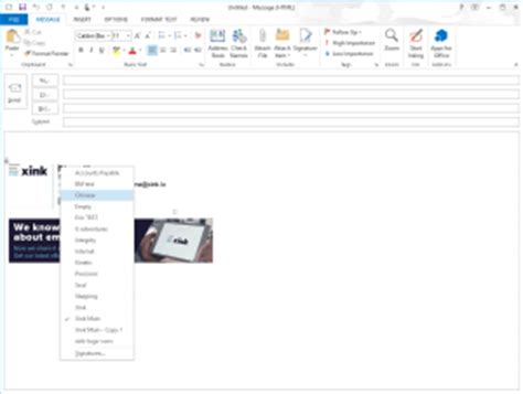 Office 365 Outlook How To Change Signature How To Change Signature In Outlook Xink