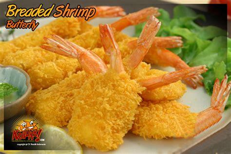 produk breaded shrimp butterfly frozen food kraukk