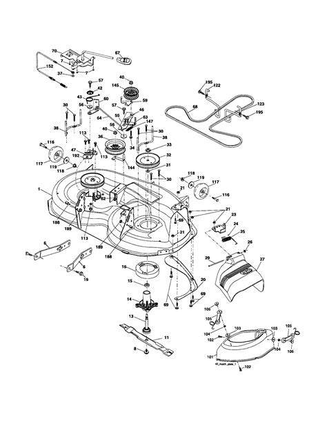 poulan pro parts diagram poulan pro parts diagram pictures to pin on