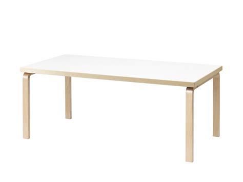 white laminate dining table buy the artek 83 dining table at nest co uk