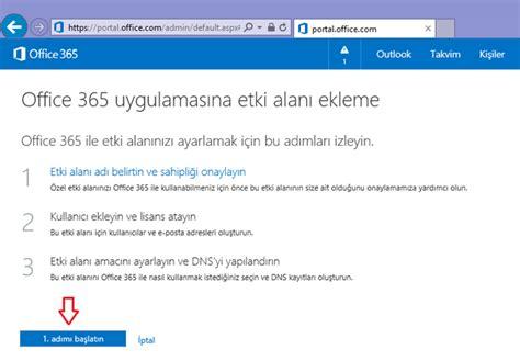 Office 365 Domain Office 365 Domain Doğrulama Ve Domain Ekleme Tr Tr