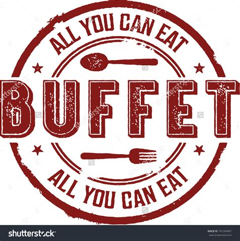 All You Can Eat For F B breakfast buffet stock photos images pictures