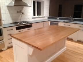 kitchen islands and cartsg denver white island with solid butcher block top hayneedle