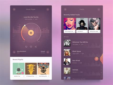 Android App Design dribbble dribbble png by kazi mohammed erfan
