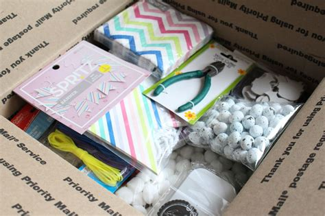 Box Giveaway - mega craft box giveaway yesterday on tuesday