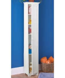 Slim Storage Cabinet New Cedar Slim Storage Cabinet White Or Black Shelf Book Wood Ebay