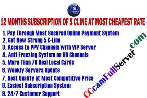 test cccam cline cccamfullserver launch the powerful cccam cardsharing