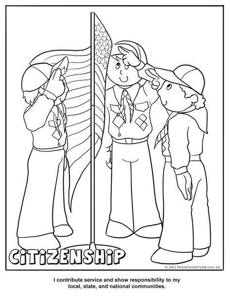 Cub Scout Coloring Page Az Coloring Pages Scouts Coloring Pages