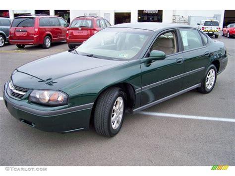 2002 chevy impala black 2002 medium green pearl chevrolet impala 52453286